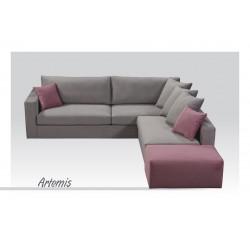 Γωνιακός καναπές Άρτεμις