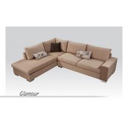 Γωνιακός Καναπές Glamour