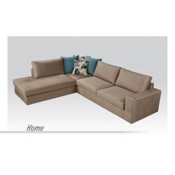 Γωνιακός Καναπές Home